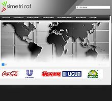 Simetri Raf - Web Design by magicmushroomme