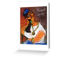 Picasso Baby Greeting Card