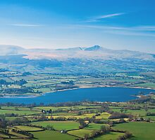 View over Llangorse Lake by Nick Jenkins