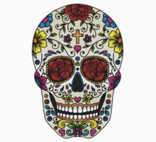 The Colorful Skull by AidenHyland