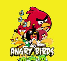 Angry Birds For Galaxy by jama123