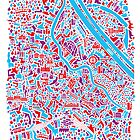 Vienna City Map by Vianina