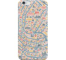 Amsterdam City Map iPhone Case/Skin