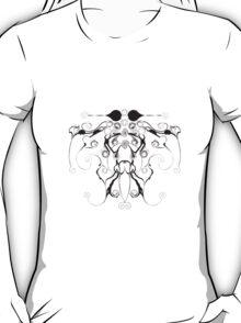 Moth Swirls And Twirls T-Shirt