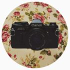 Floral//Canon AE-1 by Tropicana