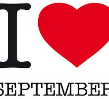 I ♥ SEPTEMBER by eyesblau