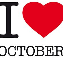 I ♥ OCTOBER by eyesblau