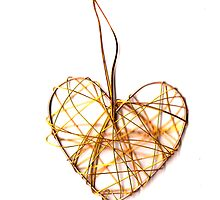 Golden Heart by abbilaura