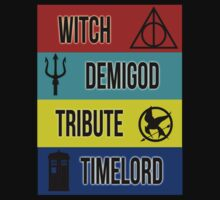 Witch, Demigod, Tribute, Timelord - Female Version by LovelyOwls