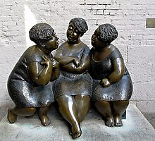 Gossip Ladies © by Ethna Gillespie