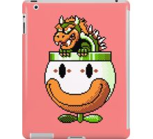 Bowser and Clown Copter iPad Case/Skin