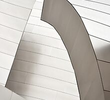 Disney Concert Hall Architecture II by Jessica Herrera