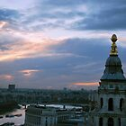 Sunset from St. Paul's by MikaylaM