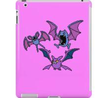 Zubat. Golbat and Crobat iPad Case/Skin