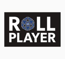 Roll Player Blue d20 Sticker by NaShanta