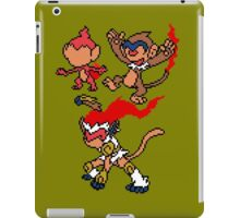 Chimchar, Monferno and Infernape iPad Case/Skin