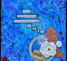 Story in Blue by Giovanna Scott