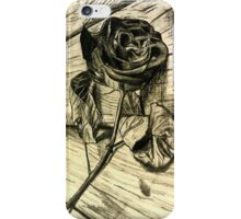 Rose and Wood iPhone Case/Skin