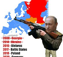 Putin european tour by elektro