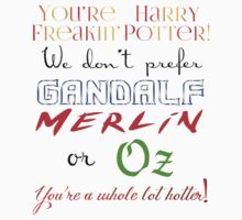 You're Harry Freakin' Potter by kltj11