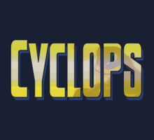 Cyclops® Styled Text Tee by urbanity