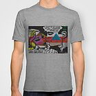 Bad Mona Graphic Comic Art Tee by Patricia Feaster-Kimmerle