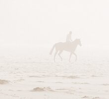 Horse Rider in the Mist by Ian Pletzer