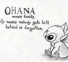 Stich from Lilo and Stich by Janel Vazquez