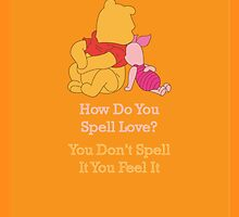 Winnie The Pooh & Piglet - Quote by AllaBeck