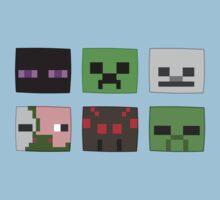 Minecraft Mobs Kids Clothes