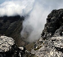 Fog on the Table Mountain by fd-schulz