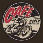 Cafe Racer Retro Design by AlexVentura