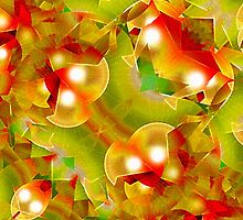 Christmas Texture Motif by DFLCreative