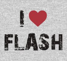 I love Flash by refreshdesign