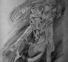 Race Horse study by Anne Thigpen