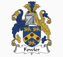Fowler Coat of Arms / Fowler Family Crest by William Martin