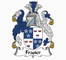 Frasier Coat of Arms / Frasier Family Crest by William Martin