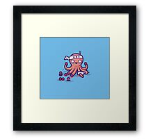 Octosushi Framed Print