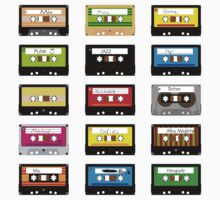 Music Tapes by dreibirnen