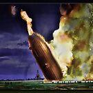 The Hindenburg by Richard  Gerhard