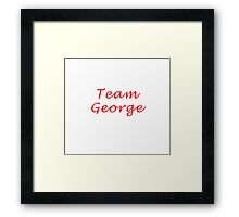 Team George - Hart of Dixie Framed Print