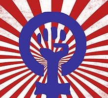 Feminist Symbol by Boogiemonst