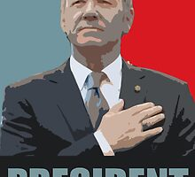 House of Cards - PRESIDENT by elektro
