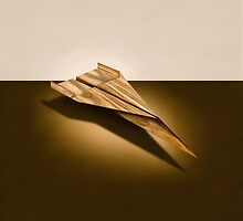 Paper Airplanes of Wood 3 by YoPedro