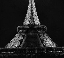Eiffel Tower Starkly by Robert Meyers-Lussier