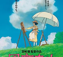 The Wind Rises Japanese Poster by nvir69