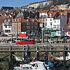 Scarborough Harbour by John (Mike)  Dobson