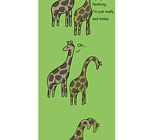 Consolation: Giraffes by robot-hugs