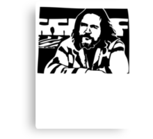 The Dude Big Lebowski Canvas Print