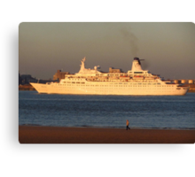 DISCOVERY CRUISE LINER Canvas Print